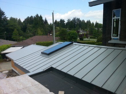 Metal Roofing Vancouver New Construction