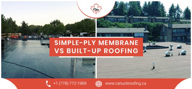 simple ply and build up roofing compare image