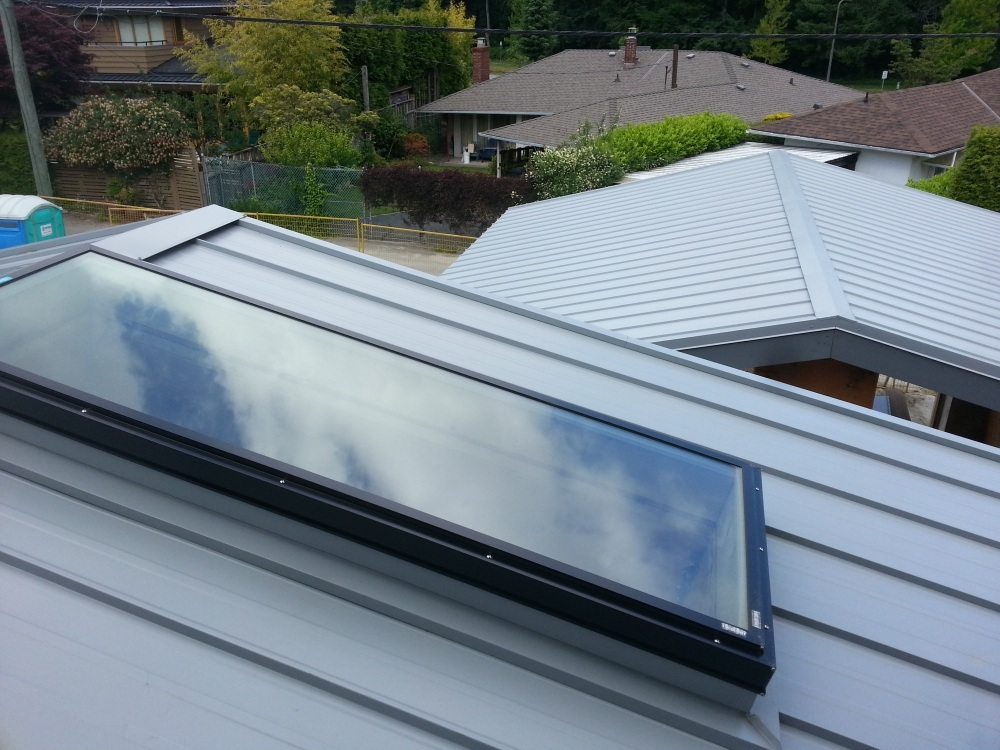 our roofing service also include skylight service