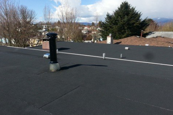 a well built torch on roofing on Vancouver home